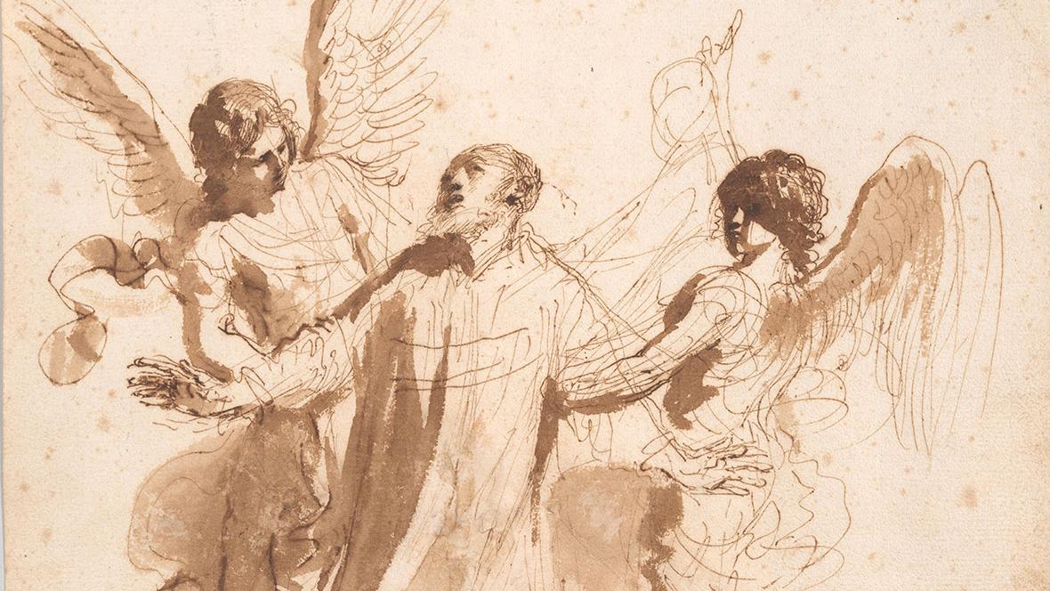 <h3>Guercino</h3> <p><em>Virtuoso Draftsman</em></p>